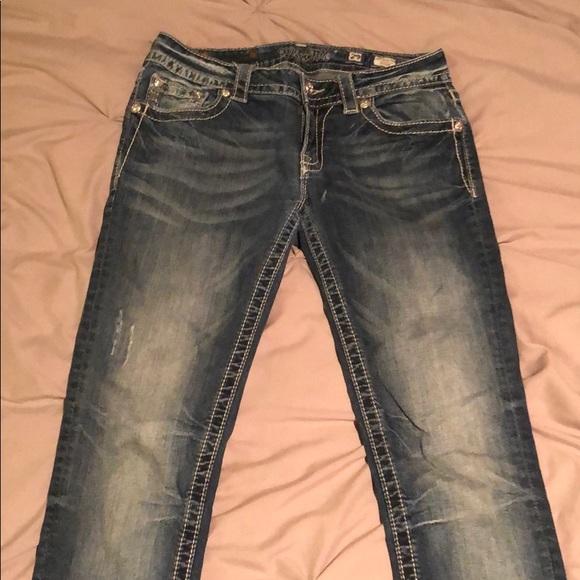 Miss Me Denim - Bling Signature Skinny Miss Me Jeans